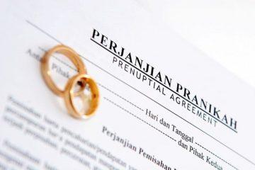 perjanjian pranikah